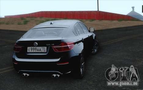BMW X6M für GTA San Andreas rechten Ansicht