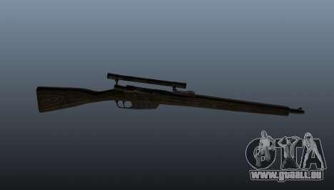 Fusil de sniper Carcano pour GTA 4 troisième écran