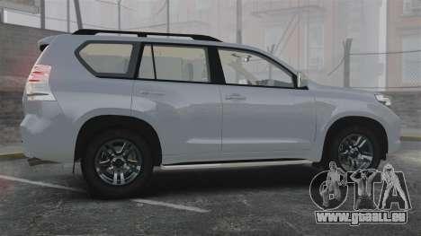 Toyota Land Cruiser Prado 150 pour GTA 4 est une gauche