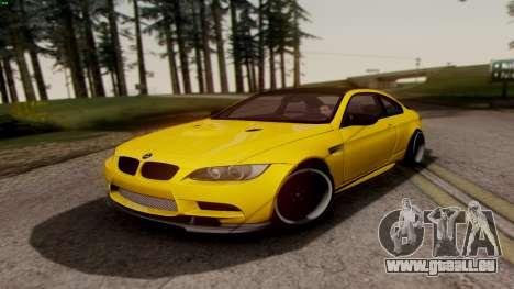 BMW M3 E92 Hamann für GTA San Andreas