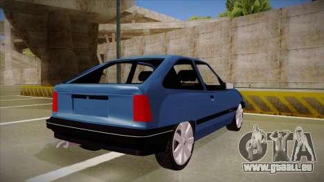 Chevrolet Kadett pour GTA San Andreas vue de droite