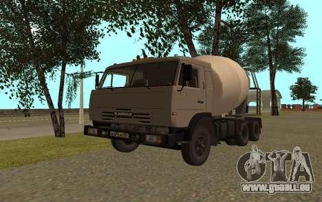 Camions KAMAZ 53115 pour GTA San Andreas