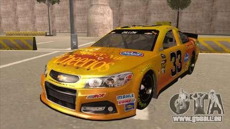 Chevrolet SS NASCAR No. 33 Cheerios pour GTA San Andreas