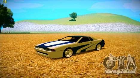 Paintjobs EQG Version for Elegy pour GTA San Andreas deuxième écran