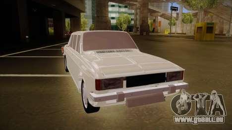 Paykan Limousine pour GTA San Andreas laissé vue