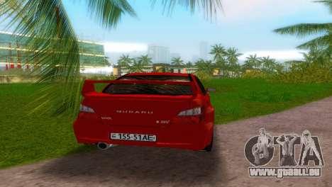 Subaru Impreza WRX STi für GTA Vice City zurück linke Ansicht