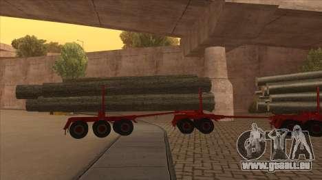 transporteur 2-nd-bois à Hayes H188 pour GTA San Andreas vue arrière
