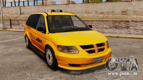 Dodge Grand Caravan 2005 Taxi NYC pour GTA 4