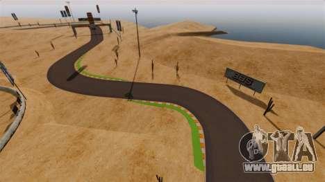 Emplacement DesertDrift ProStreetStyle pour GTA 4 quatrième écran