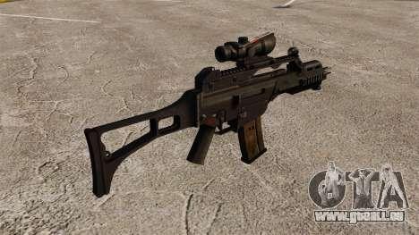 Automatische HK G36C v3 für GTA 4 Sekunden Bildschirm