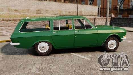 Volga gaz-24-02 pour GTA 4 est une gauche