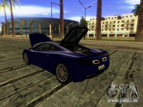 McLaren MP4-12C WheelsAndMore für GTA San Andreas