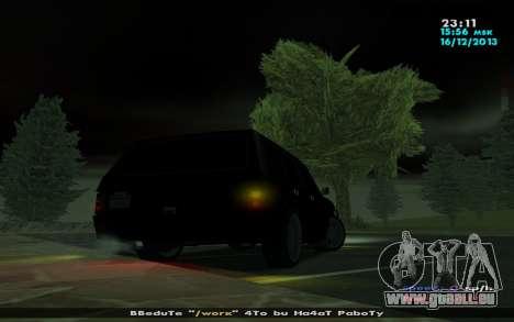 Huntley Mp-Bandit für GTA San Andreas rechten Ansicht