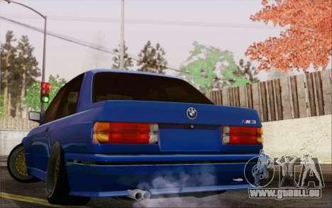 BMW M3 E30 Stance pour GTA San Andreas laissé vue