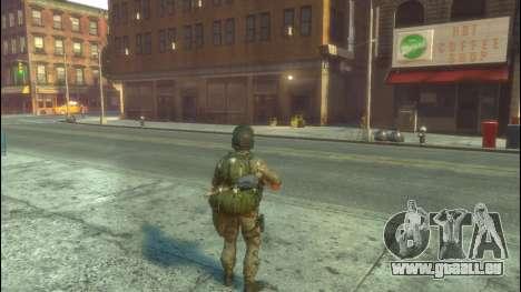 Un soldat russe v1.0 pour GTA 4 secondes d'écran