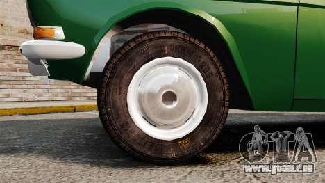 Volga gaz-24-02 pour GTA 4 Vue arrière