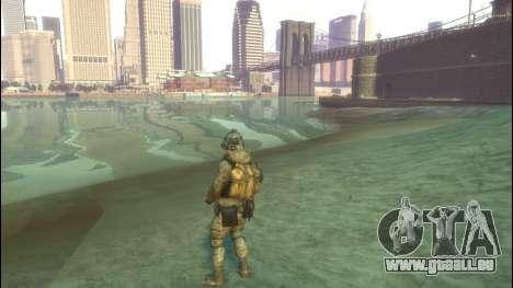 Un soldat russe v4.0 pour GTA 4 secondes d'écran