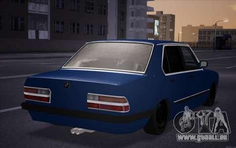 BMW 5-er E28 Tramp pour GTA San Andreas laissé vue