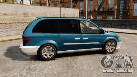 Dodge Grand Caravan 2005 pour GTA 4 est une gauche