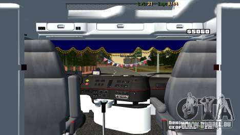 Volvo VNL 670 für GTA San Andreas rechten Ansicht