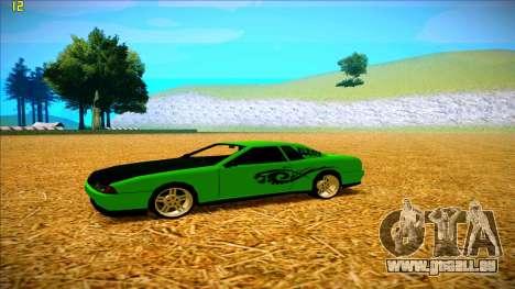Paintjobs EQG Version for Elegy pour GTA San Andreas troisième écran