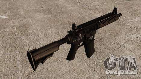 Automatique carabine M4 VLTOR v1 pour GTA 4 secondes d'écran