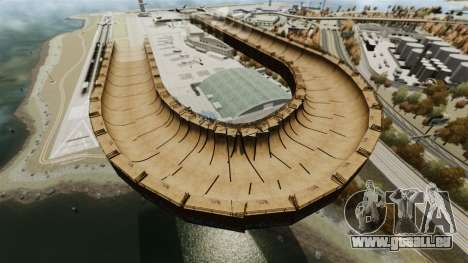 Piste de rampe pour GTA 4 secondes d'écran