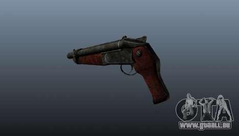 Fusil à canon scié v2 pour GTA 4 secondes d'écran