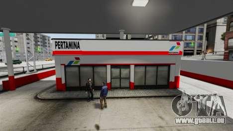 Pertamina Tankstelle für GTA 4 weiter Screenshot