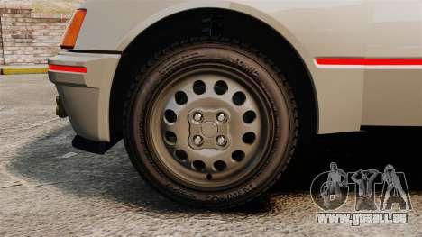 Peugeot 205 Turbo 16 für GTA 4 Rückansicht