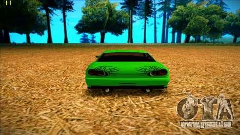 Paintjobs EQG Version for Elegy pour GTA San Andreas quatrième écran