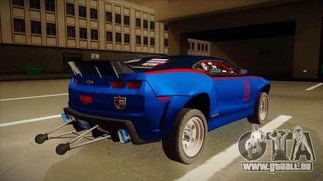 Chevrolet Camaro ZL1 Elite pour GTA San Andreas vue de droite