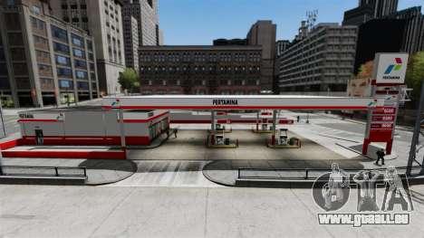 Pertamina Tankstelle für GTA 4 Sekunden Bildschirm