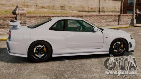 Nissan Skyline R34 GT-R NISMO Z-tune pour GTA 4 est une gauche