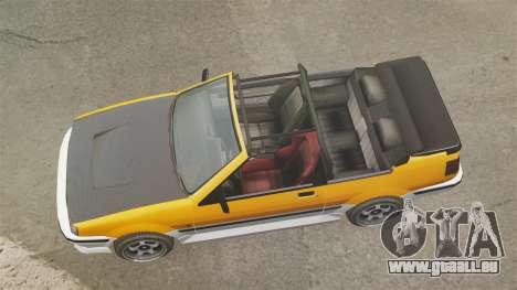 Cabrio-Version des Futo für GTA 4 rechte Ansicht