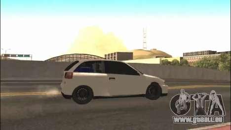 Seat Ibiza Cupra R 1.8 20V 2002 pour GTA San Andreas laissé vue