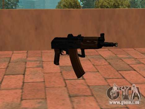 AKS-74U mm pour GTA San Andreas deuxième écran
