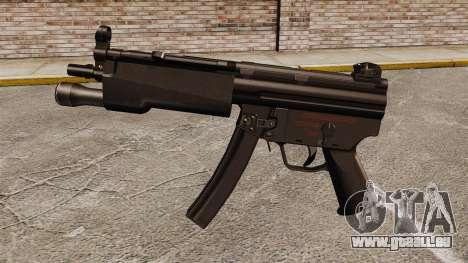 HK MP5 Maschinenpistole für GTA 4 dritte Screenshot