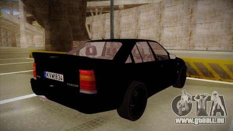 Lotus Carlton für GTA San Andreas rechten Ansicht
