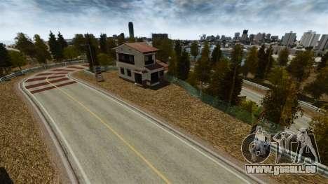 Lage von Okutama FZC für GTA 4 sechsten Screenshot