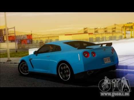 Nissan GT-R Egoist v2 pour GTA San Andreas laissé vue