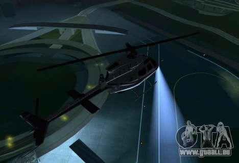 OH-58 Kiowa Police für GTA San Andreas rechten Ansicht