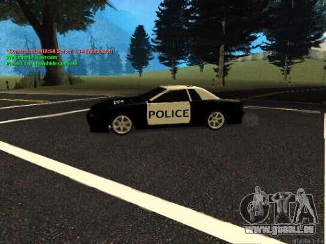 Elegy Police für GTA San Andreas Rückansicht