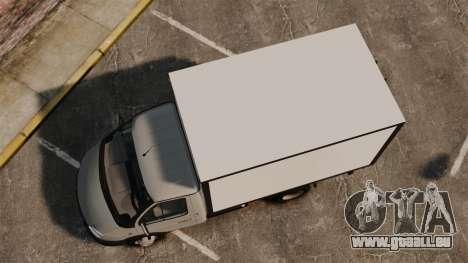 GAZ-3302 Business für GTA 4 rechte Ansicht