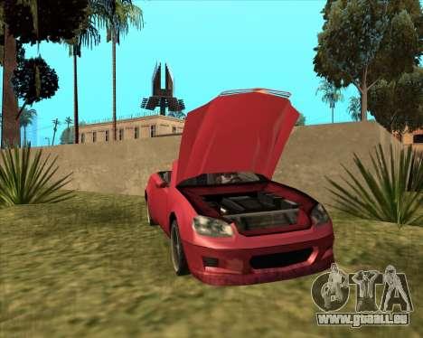 Feltzer bienfaiteur de GTA 4 pour GTA San Andreas sur la vue arrière gauche