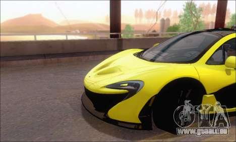 McLaren P1 EPM pour GTA San Andreas vue de côté