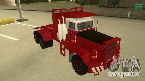 Hayes camion H188 pour GTA San Andreas laissé vue