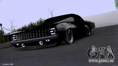 Chevrolet Camaro 1969 Pro Sport pour GTA San Andreas