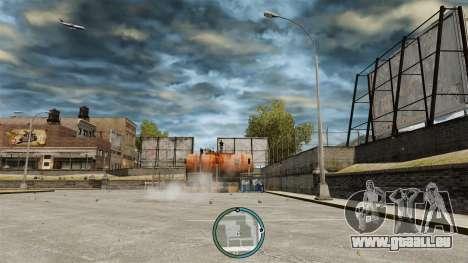 Die zentrale Lage des Radars für GTA 4