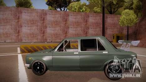 Zastava 128 Turbo pour GTA San Andreas vue arrière